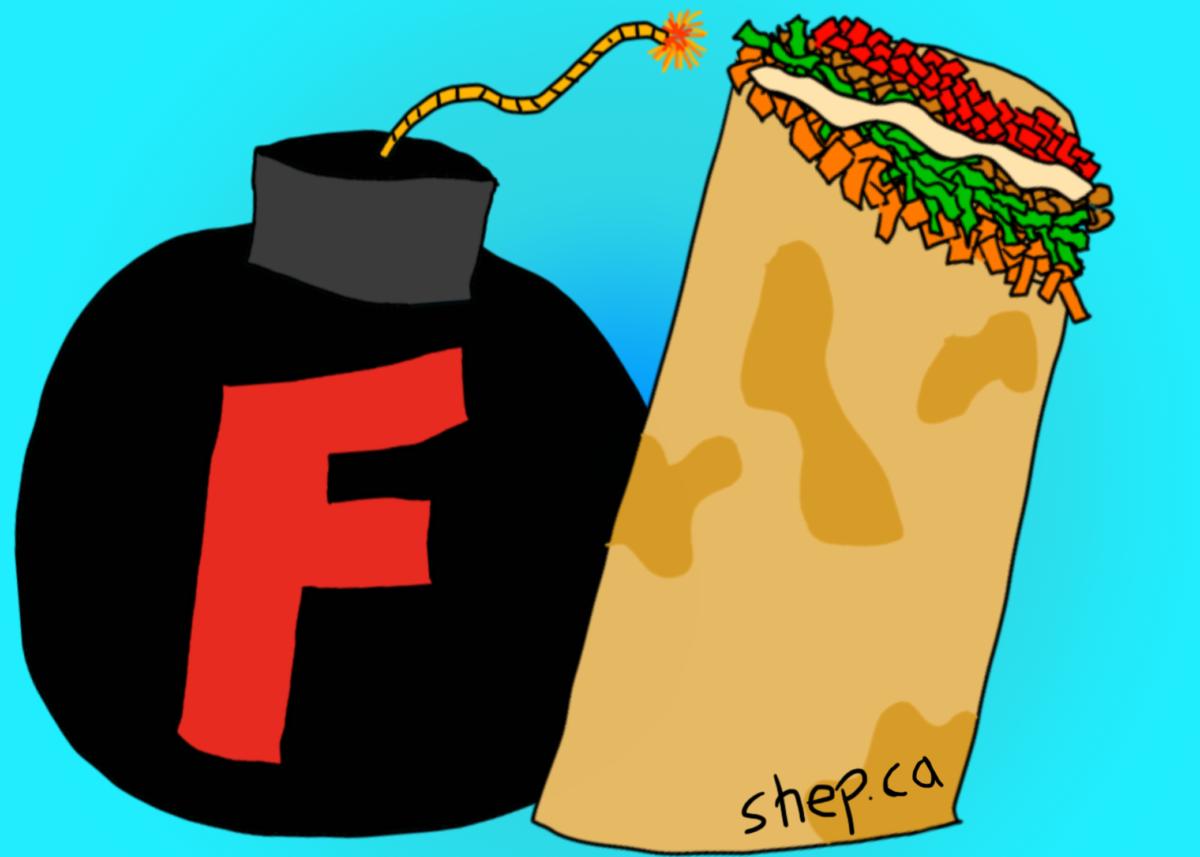 F-bomb and a burrito